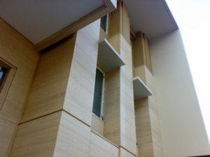 marmer dinding luar
